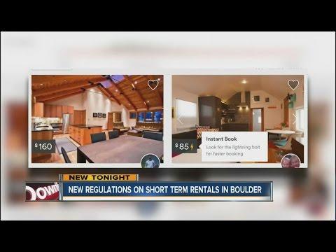 New regulations on short-term rentals in Boulder