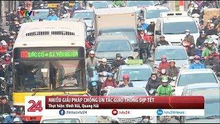 Những giải pháp chống ùn tắc giao thông dịp Tết | VTV24