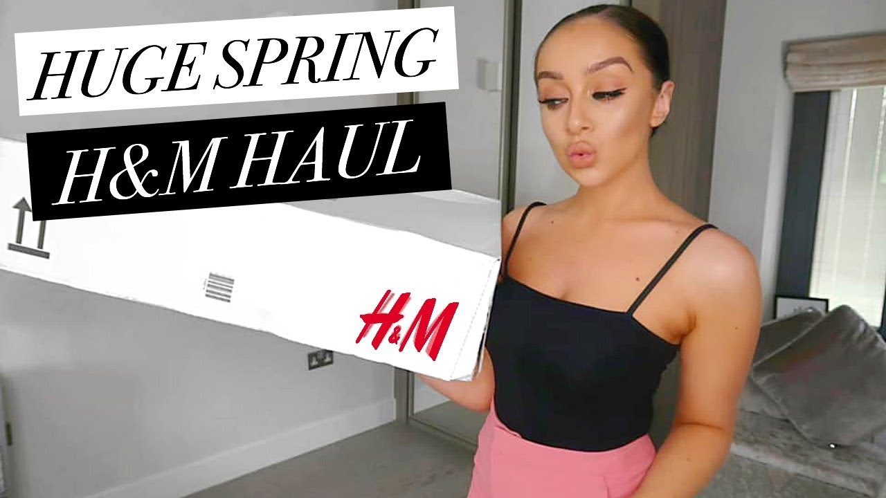 HUGE H&M TRY-ON HAUL APRIL 2019 // SPRING OUTFIT IDEAS 9