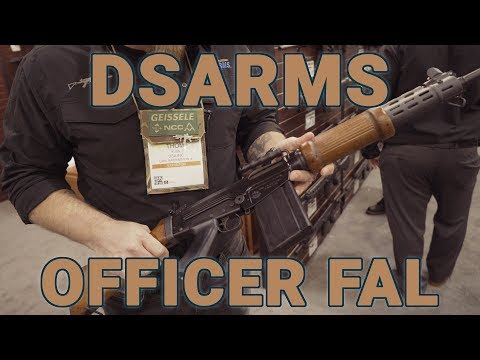 DSArms shows off their Israeli FAL at SHOT Show