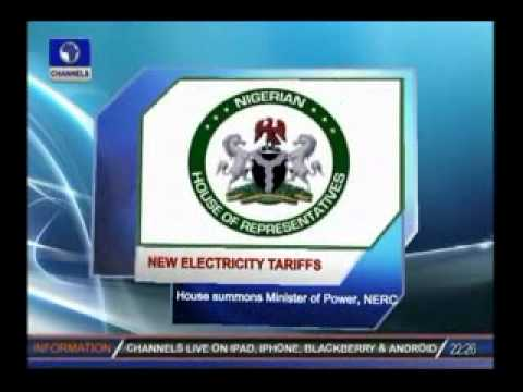New Electricity Tariffs:House summons Minister of Power,NERC
