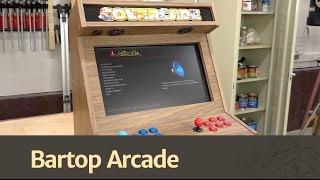 Bartop Arcade w/ Raspberry Pi