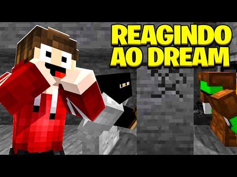 Minecraft REAGINDO ÀS