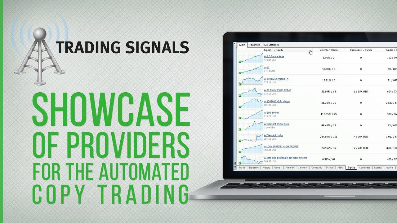 Metaquotes trading signals