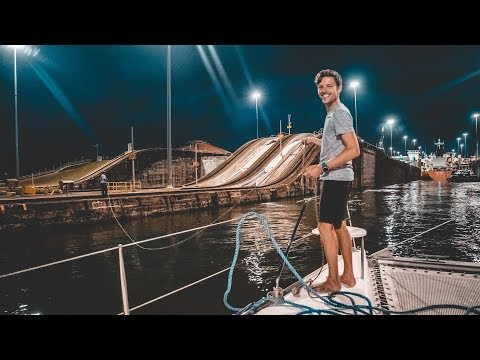 Locked Up, Let Down & Set Free - Transiting the Panama Canal (sailing Curiosity)