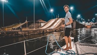 Locked Up, Let Down & Set Free - The Panama Canal (sailing Curiosity)
