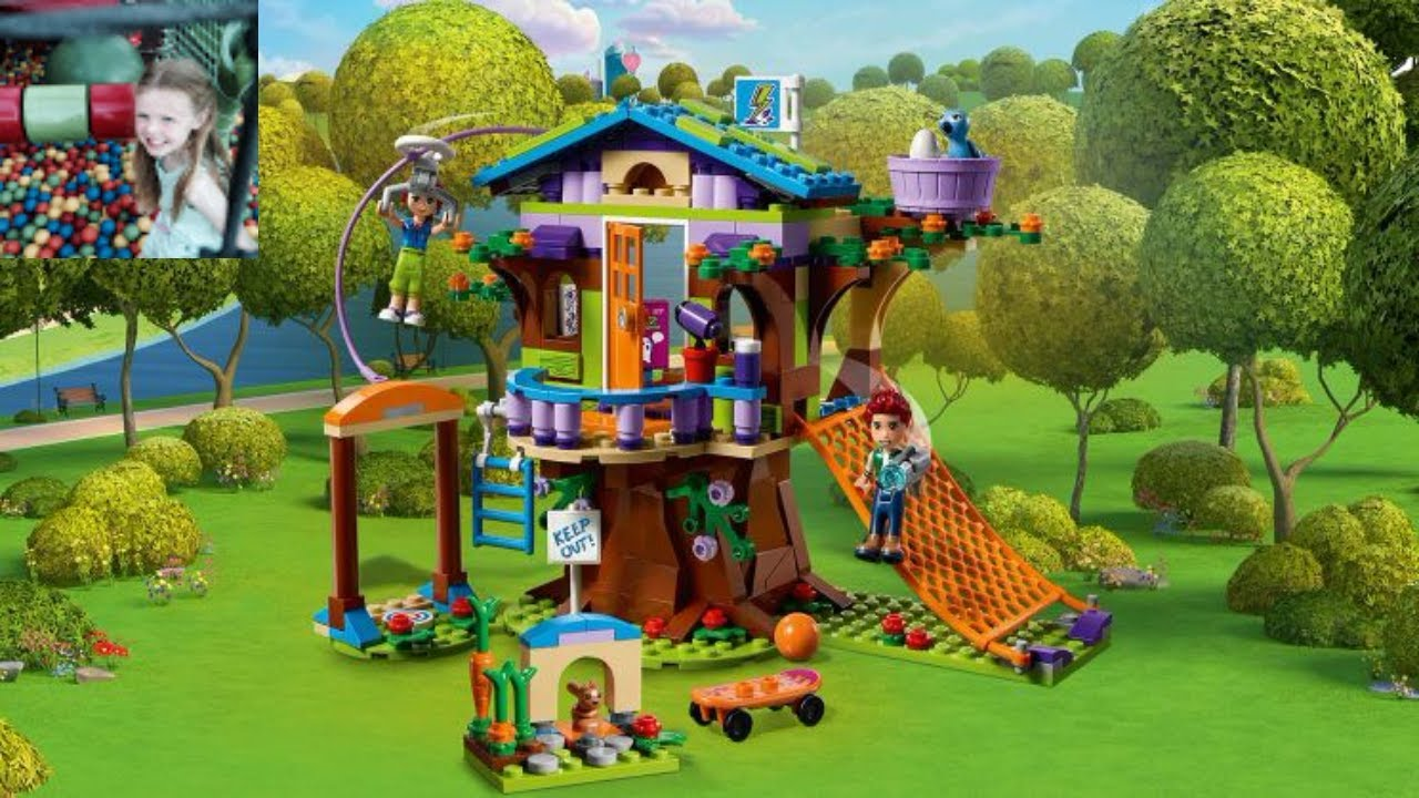 Lego Friends 41335 Mias Tree House Buildreview Youtube