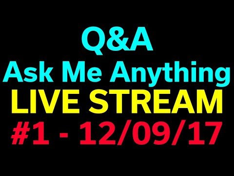 Q&A - AMA + YouTube News & Twitch Update