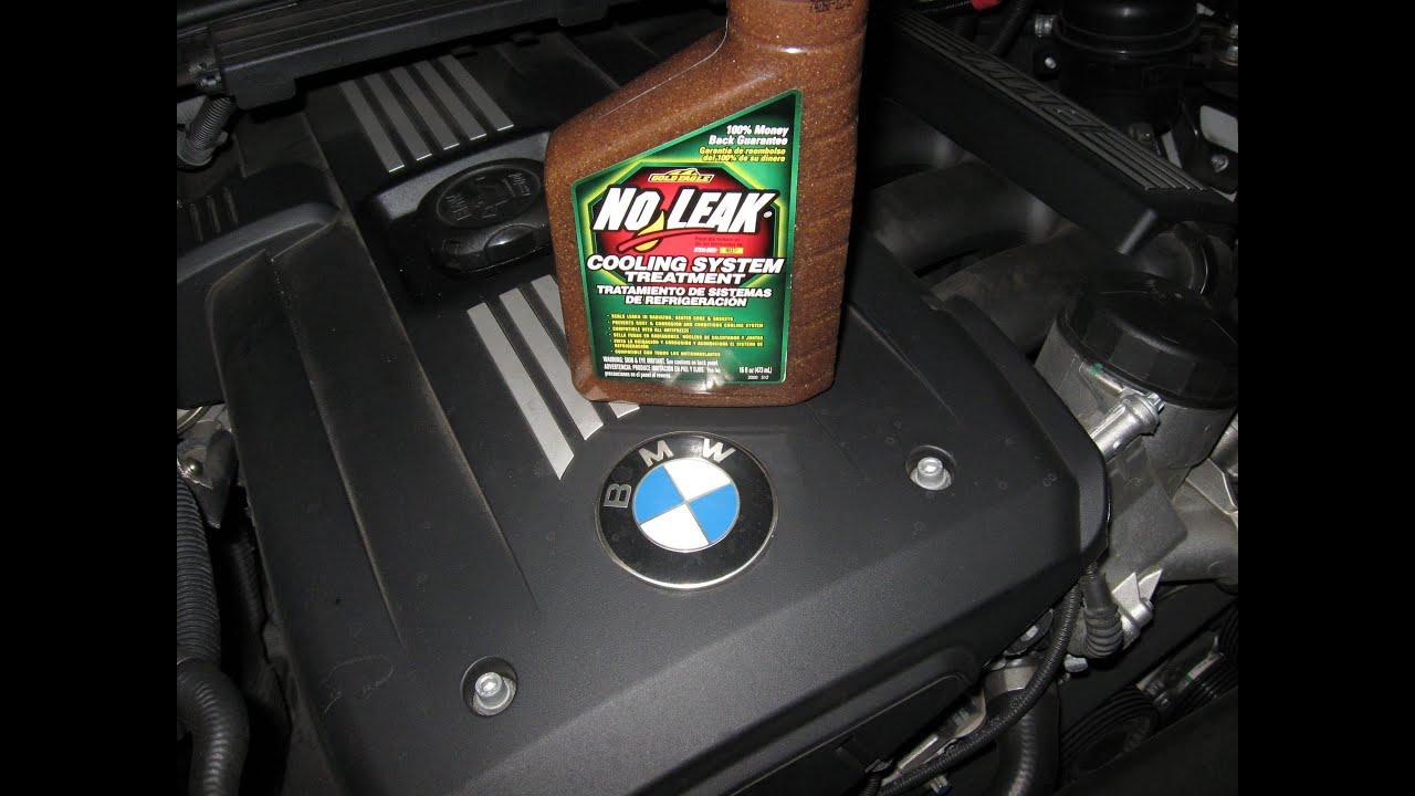 BMW coolant leak heater core repair No Leak Stop Leak by froggy