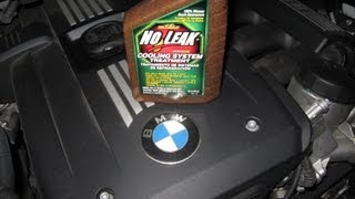 BMW coolant leak heater core repair No Leak Stop Leak by froggy