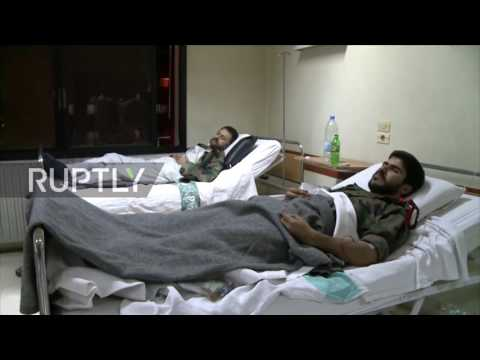 Syria: Militants use alleged Chlorine gas against Syrian soldiers in Aleppo attack