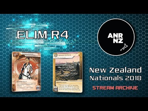 ELIM R4 - NZ Nationals 2018 - Ben W vs Michael W