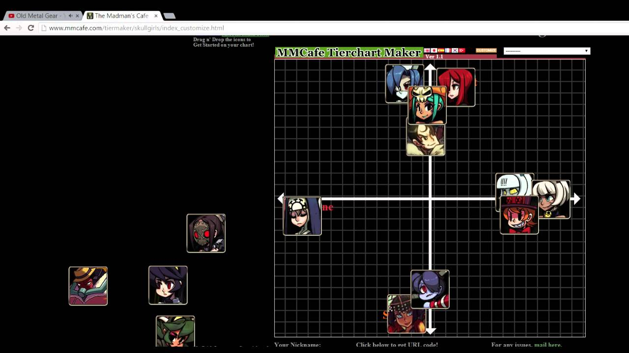 Skullgirls matchmaking