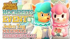 *NEUES* HOCHZEITSEVENT! | MAXIMALE Liebeskristalle und ALLE INFOS! | Animal Crossing New Horizons🌟
