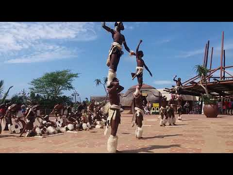KANGAROO ZULU DANCERS...USHAKA MARINE(21st March