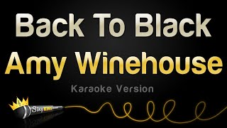 Amy Winehouse - Back To Black (Karaoke Version)