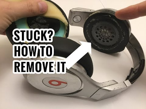 How to Remove Stuck Ear Cushion Plastic? Problem Fix for Beats Pro by Dre