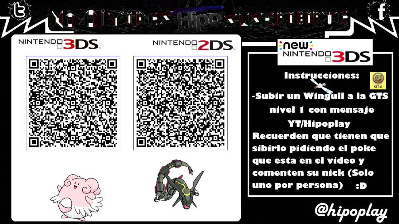 [Terminado] Code qr Blaziken Shiny Competitivo & Deoxys | Pokemon XY / ORAS