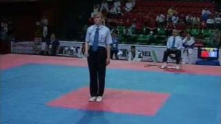 World Cup Taekwondo Team Championships 2009 Baku Male -82kg Kazakhstan vs Egypt Part 1