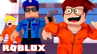 WE ESCAPED FROM PRISON! -ROBLOX