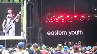 "eastern youth ""NATSUNOHI NO GOGO"" at FUJI ROCK FESTIVAL 2018."