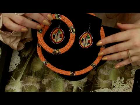 ASMR: amandine's eshop: meaningful jewelry around the world – (QVC Role play -soft spoken)