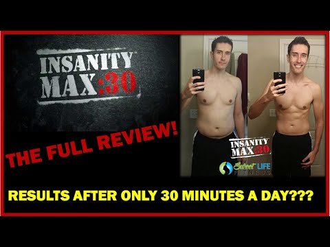INSANITY Max 30 Review - THAT Bad??