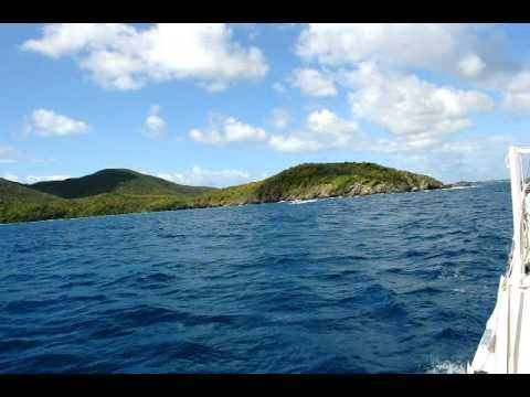 """Sailing to the British Virgin Islands aboard the """"Radio Flyer"""""""