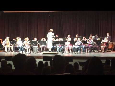 Cushing Middle School Band May 13, 2016