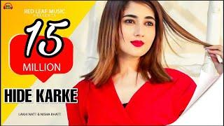 hide-lakhi-natt-official-video-nisha-bhatt-goldy-kehal-new-punjabi-songs-2019-red-leaf