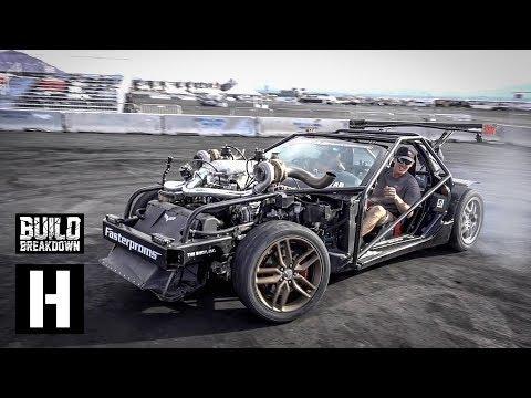 Cleetus McFarland's Twin Turbo 427ci Corvette Kart
