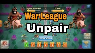 Unpair war every time || Clash of Clans|| in hindi