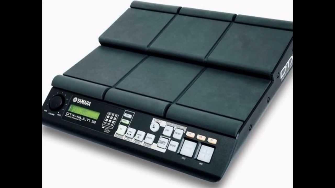 Descargar Samples de la bateria yamaha dtx multi 12 gratis y completos
