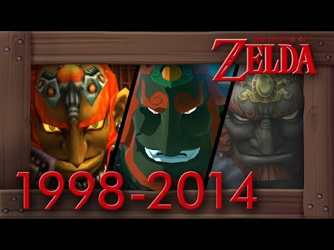 Evolution of Ganondorf Battles in Zelda Games [1998–2014]