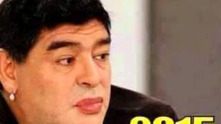 Maradona dopo il lifting! Come diventerà nel 2016