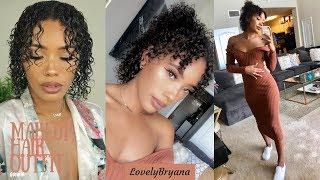 GRWM: Makeup, Natural Hair, Dress from Amazon