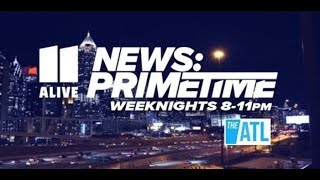 Atlanta protests coverage   11Alive News Primetime