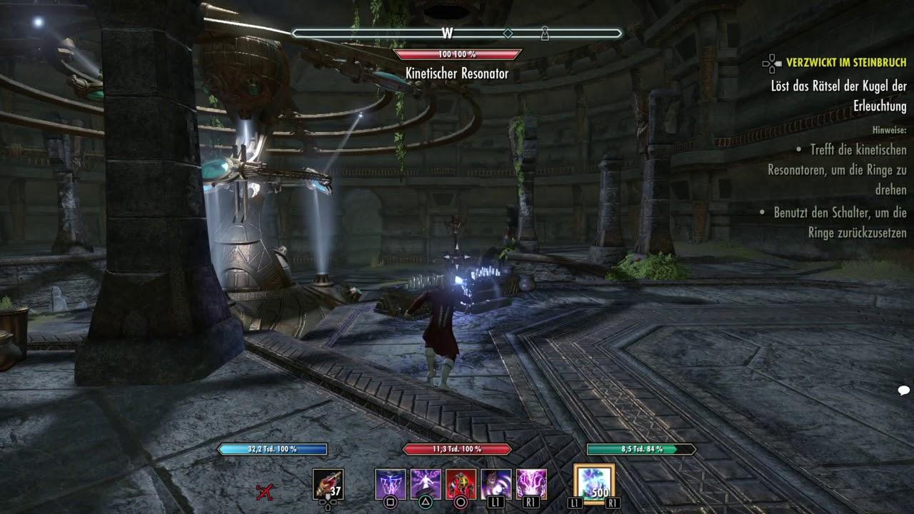 The Elder Scrolls Online: verzwickt im Steinbruch Rätsel - YouTube