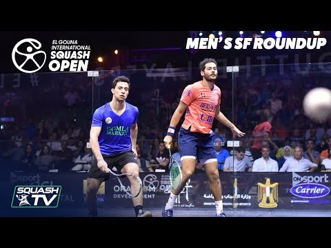 Squash: El Gouna International 2019 - Men's SF Round Up