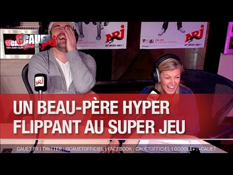 Un beau-père hyper flippant au Super Jeu - C'Cauet sur NRJ