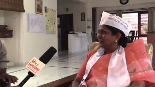 Smt M. Chaya Ratan (AAP) Secunderabad MP Candidate - Interview