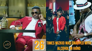 There's Something About Wizkid And His Love For Alcohol & Smoke