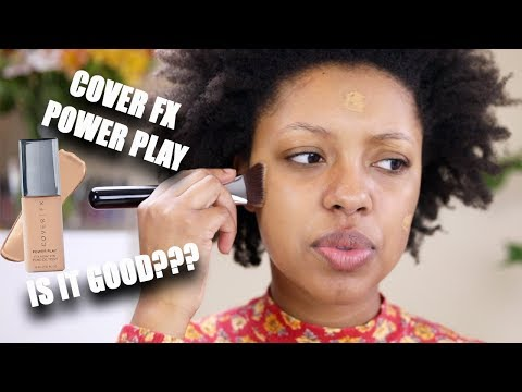 NEW Cover FX Power Play Foundation | Demo + First Impressions