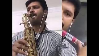 Ye raat ye chandni fir kahan- Saxophone and Flute -The Golden Notes