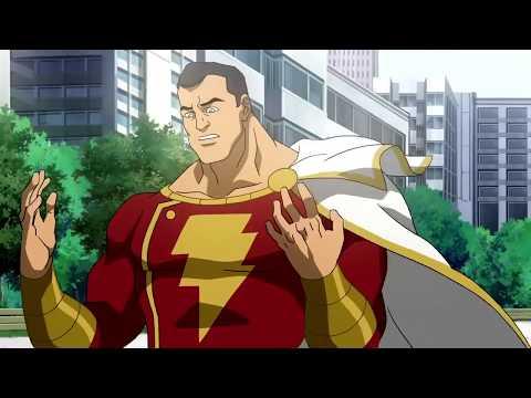 Shazam vs Black Adam vs Superman - Final Battle Scene