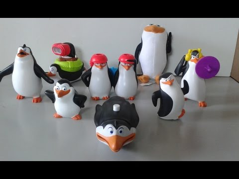 Pinguins de Madagascar mc lanche feliz Janeiro 2015