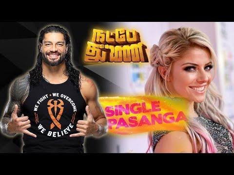 Roman Reigns   Single Pasanga Song - Natpe Thunai #WWE