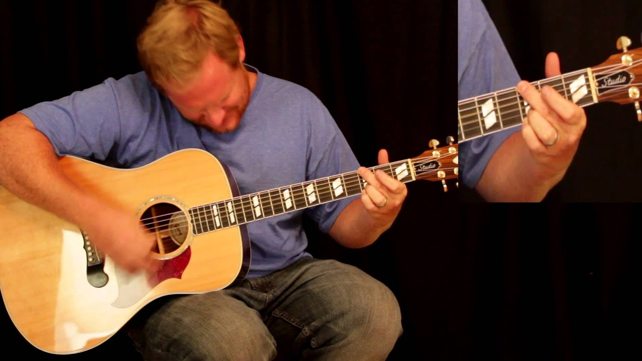 Open The Eyes Of My Heart Lord Acoustic Worship Tutorial One Finger