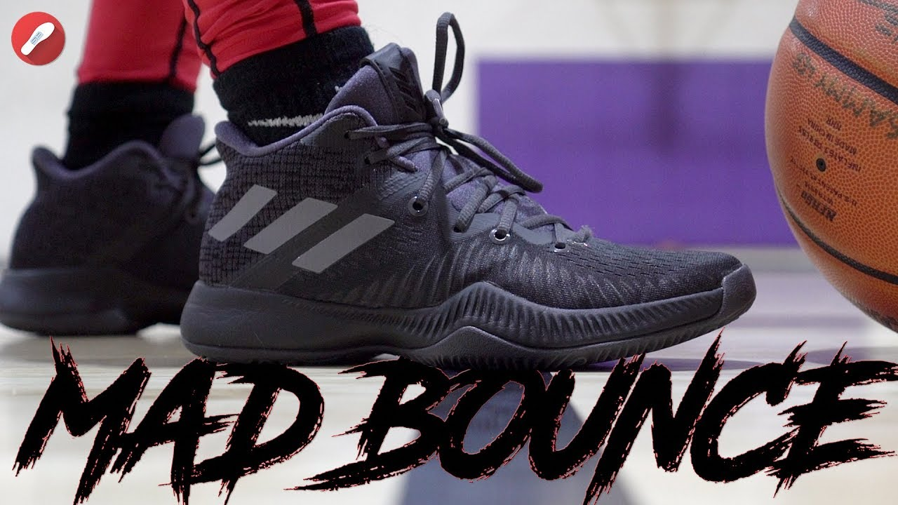 1c919ae4acc Adidas Mad Bounce Performance Review! Budget Harden   - YouTube