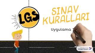 LGS Geldi ÇATTI | Sınav Kuralları Uygulama Filmi